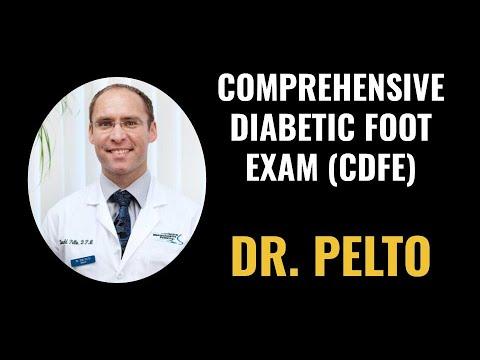 Dr. Pelto Performing a Comprehensive Diabetic Foot Exam (CDFE)