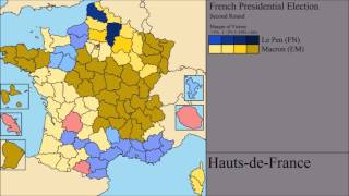 The 2017 French Presidential Election - Both Rounds: Final Results