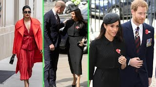 Priyanka Chopra in red after CONFIRMING Meghan's wedding attendance and Prince Harry
