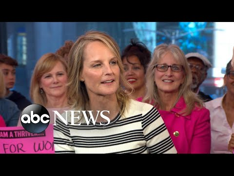 How Helen Hunt won cool points with her teen daughter