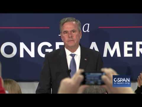 JEB BUSH DROPS OUT OF RACE (has another please clap moment)