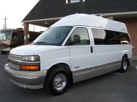 2012 Airstream Avenue 20 Suite Chevrolet Express 3500 Motor Home Van Class B Conversion Custom