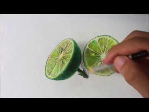Vẽ Chanh | Vẽ 3D | Tranh và Chanh | Vtung Studio