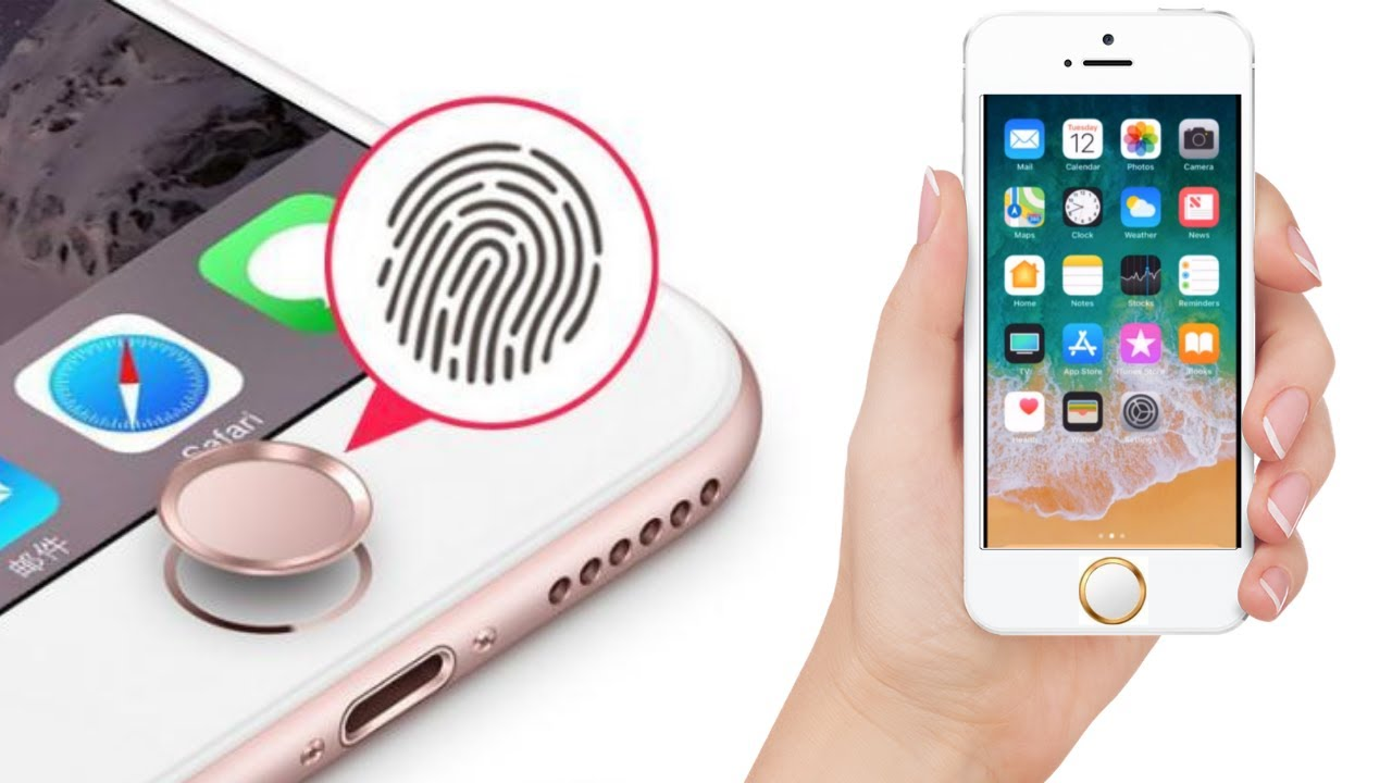 Touch id home button sticker for iphone7 7 plus 8 plus 8 6s se ipadmini34 15e5f226e9