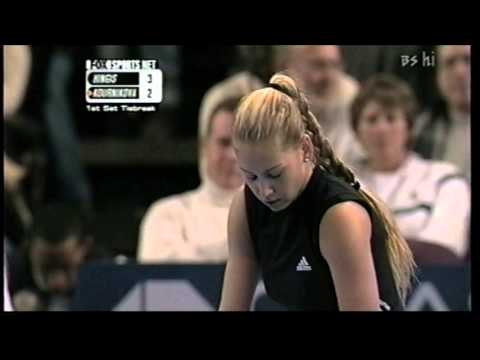 Martina Hingis vs Anna Kournikova    WTA Championships 2000