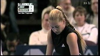 Martina Hingis vs Anna Kournikova  -  WTA Championships 2000