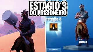 HOW TO RELEASE THE THIRD STAGE OF THE PRISONER'S SKIN?! -Fortnite, the
