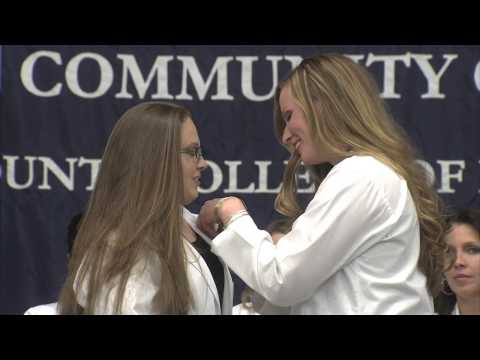 Allied Health Science 3 Pinning Ceremony