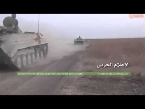 Large SAA Convoy Filmed During Southern Aleppo Offensive