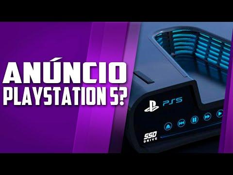 O anúncio oficial do PLAYSTATION 5 – RUMOR PESADO