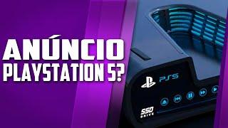 O anúncio oficial do PLAYSTATION 5 - RUMOR PESADO