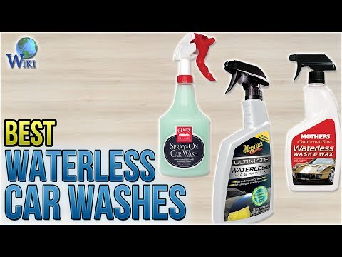10 Best Waterless Car Washes 2018