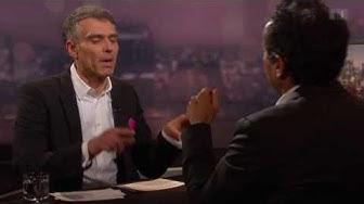 Sandro Brotz fühlt Roger Schawinski in der 100. Sendung auf den Zahn - Schawinski vom 16.12.2013
