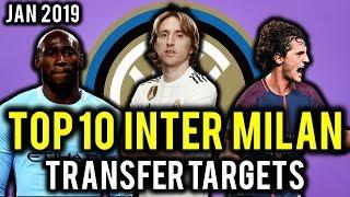 TRANSFER NEWS! TOP 10 Inter Milan TRANSFER TARGETS January 2019 ft Modric, Barella, Rabiot