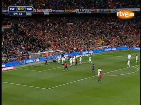 España Turquía gol de piqué