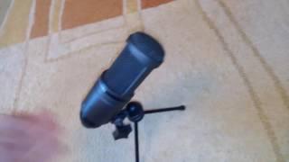 видео Audio-Technica AT2020, купить студийный микрофон Audio-Technica AT2020
