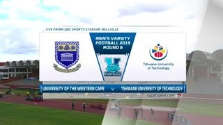 Varsity Football | UWC v TUT | Highlights