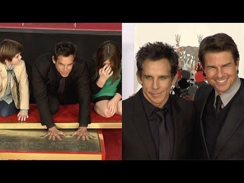 Ben Stiller Handprint Footprint Ceremony with Tom Cruise Speech