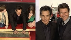 Ben Stiller Handprint Footprint Ceremony with Tom Cruise Speech