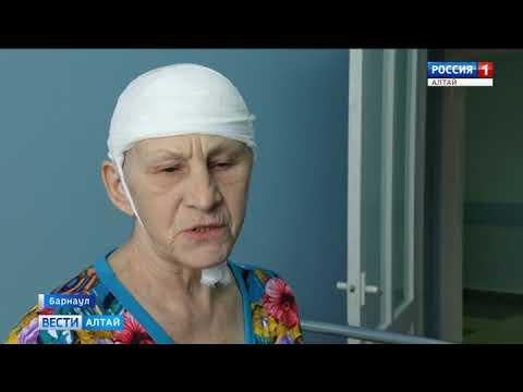 В Алтайской краевой клинической больнице нейрохирурги провели уникальную операцию на головном мозге