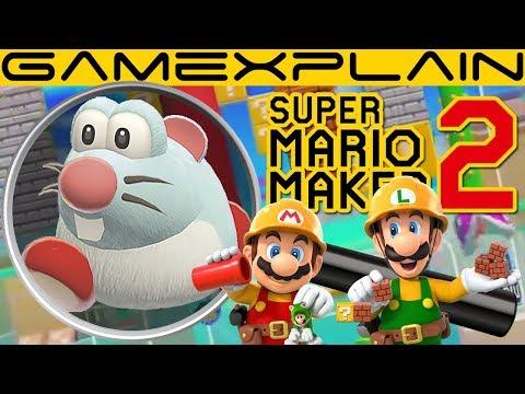 Super Mario Maker 2 Gameplay ANALYSIS: New Japanese Trailer (Sky Theme?! - Secrets & Hidden Details)