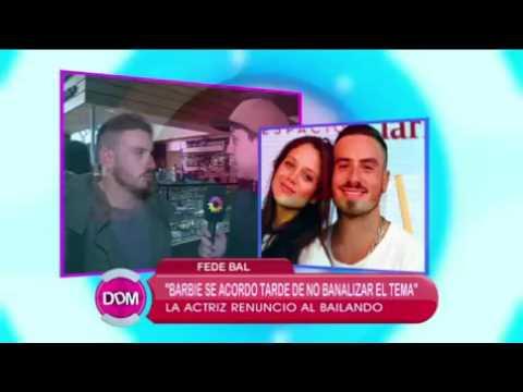 Fede Bal disparó contra Barbie Vélez y ella le contestó: Que se obsesione con otra persona