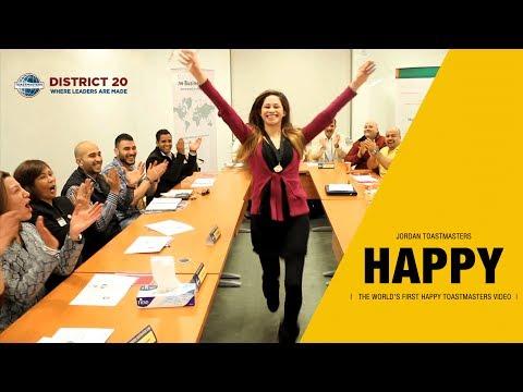 Happy Toastmasters in Jordan, Division 'N', District 20