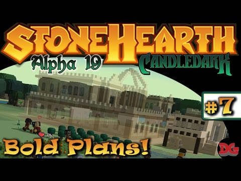 StoneHearth - Alpha 19(mod) ► Episode 7 ► Palace Design Complete! (1440p/60)