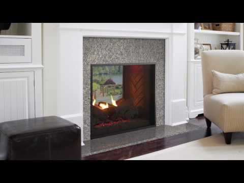 Outdoor Lifestyles Fortress Indoor/Outdoor Gas Fireplace