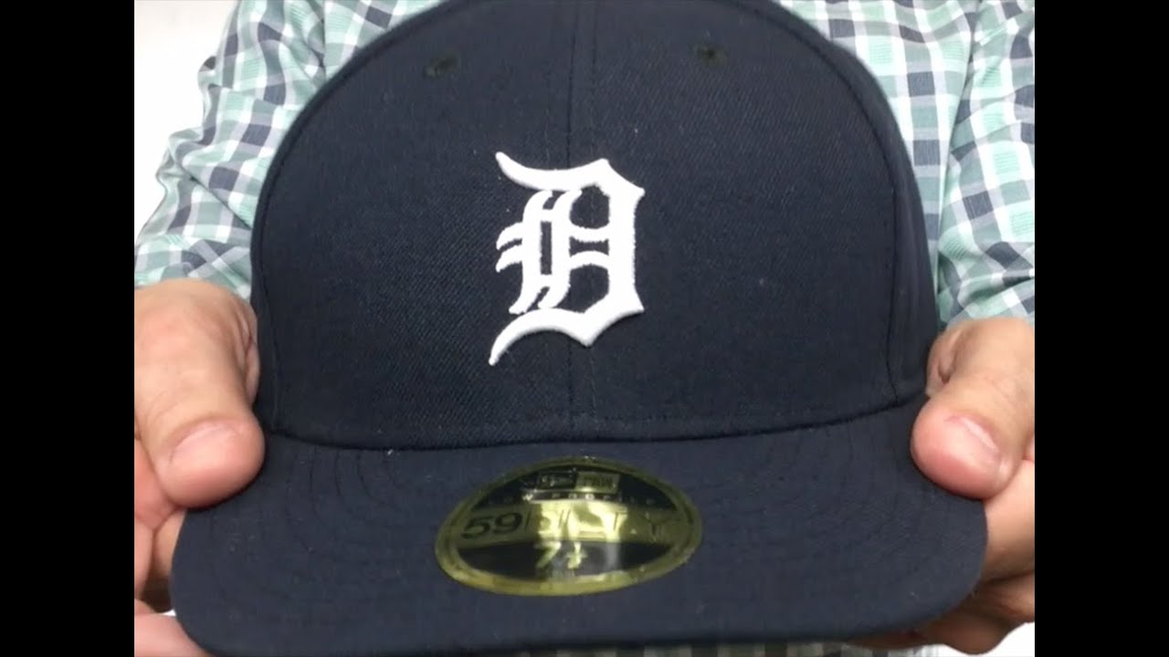 f5364fef2c9 Tigers  LOW-CROWN HOME  Fitted Hat by New Era - YouTube