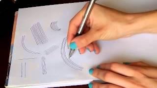 1 урок рисования для деток или новичков