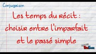 Exercices De Conjugaison Choisir Entre Imparfait Et Passe Simple College Anne Frank De Sauze Vaussais Pedagogie Academie De Poitiers