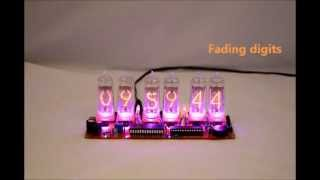 Nixie Qtc - Nixie Clock Kit For In-14, In-8-2, Z570m Nixie Tubes