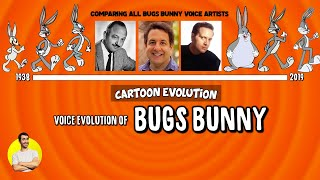 Voice Evolution of BUGS BUNNY - 81 Years Compared & Explained | CARTOON EVOLUTION