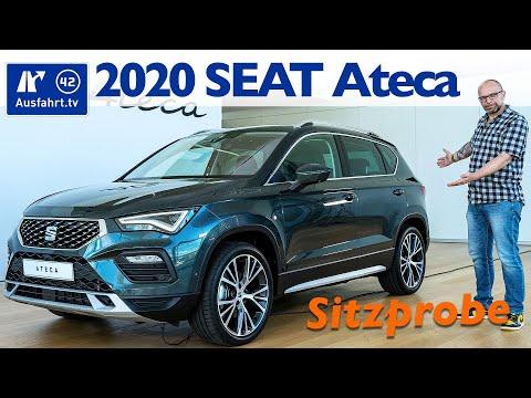 2020 SEAT Ateca - Weltpremiere, Debut, Sitzprobe, kein Test