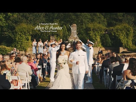 High School Sweetheart Military Wedding // Alex & Hunter