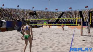 Volleyball Unbound - Pro Beach Volleyball - Steam Early Access Gameplay 2 Part 2 (Party Mode)
