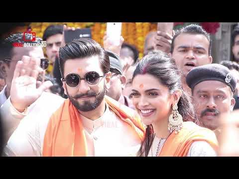 Newly-Wed Couple Ranveer Ad Deepika Siddhivinayak Temple