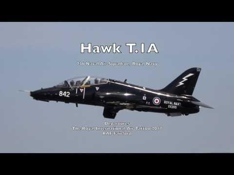Royal Navy Hawk T1 -  RIAT 2017 Departures