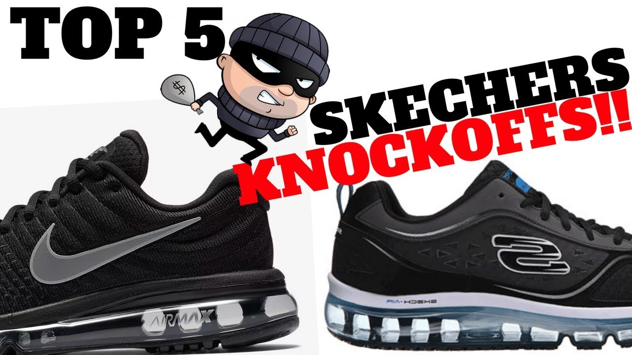 Top 5 SKECHERS KNOCKOFFS From Other SNEAKER BRANDS!