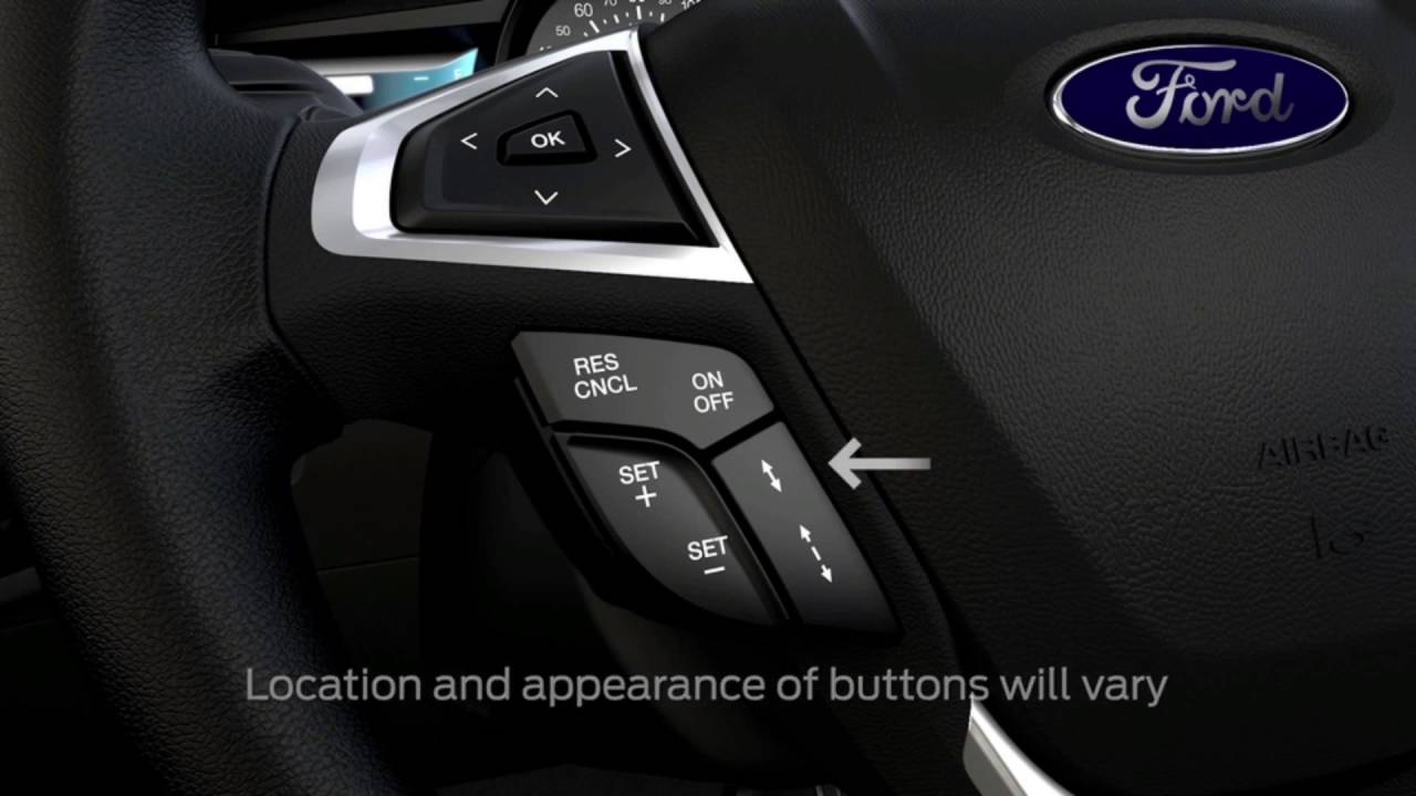 Adaptive cruise control ford how to video