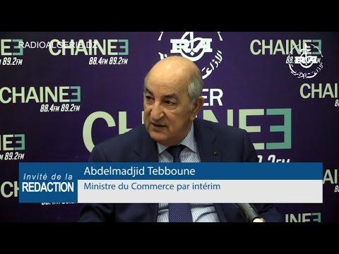 Abdelmadjid Tebboune ministre du Commerce par intérim