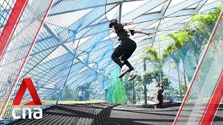 Jewel Changi Airport's Canopy Park, Sky Nets, slides and mazes: First look
