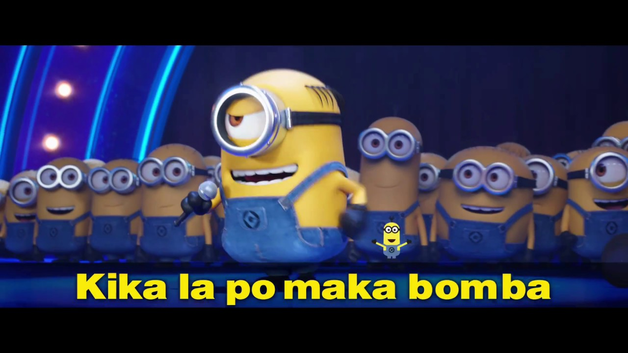 Despicable Me 3 Karaoke Lyrics Video Universal Pictures Hd