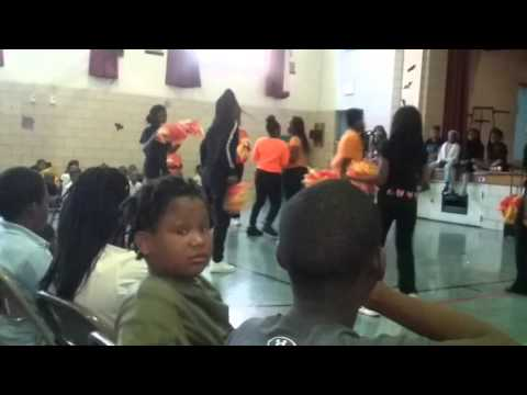 Ashe Elementary School Dancing Team