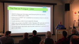 VCF Pacific Northwest 2019 -- Geoff Pool -- From Minix to GNU/Linux: A Retrospective