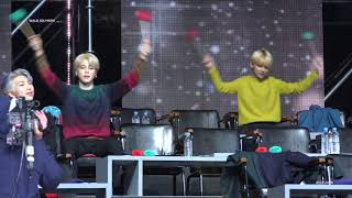 190106 GDA MIROTIC/길/행복 Reaction- focus jimin with BTS