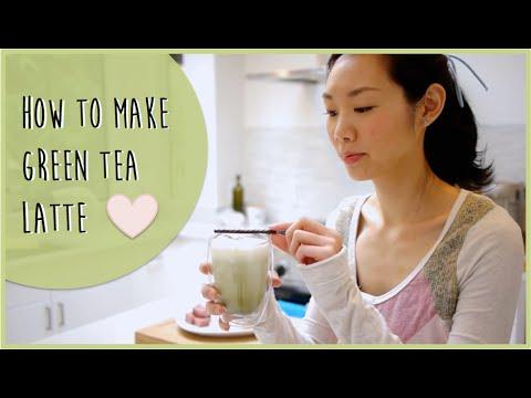 How to make Green Tea (Matcha) Latte | Simple Recipe - YouTube