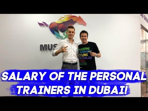 Jobs in Dubai: Salary of the personal trainers in Dubai!