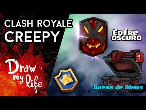 EL COFRE OSCURO de CLASH ROYALE - Historia de AdryBrix | Draw Club